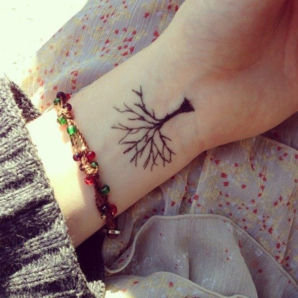 1db7b4f65 101 Small Tree Tattoo Designs that're equally Meaningful &Cute