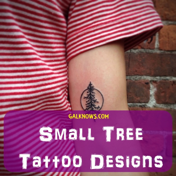 0b17311f6f0ba 101 Small Tree Tattoo Designs that're equally Meaningful &Cute