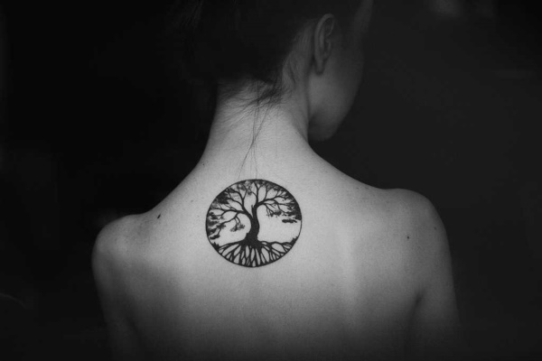 small tree tattoo designs0461