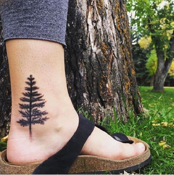 101 Small Tree Tattoo Designs that\'re equally Meaningful &Cute