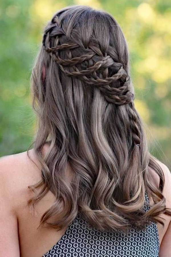123 Beautiful Waterfall Braid Hairstyles With Tutorial