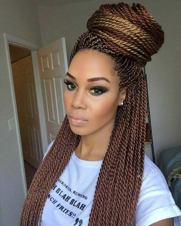 120 Pleasing Senegalese Twist That Will Turn Your Heads
