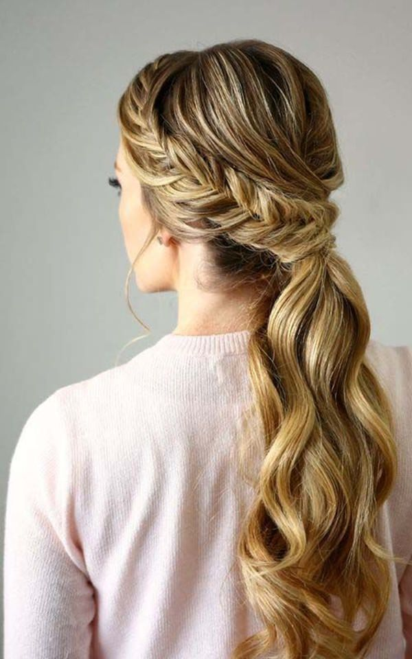 150 Stunning Braided Ponytail Hairdo For Enchanting Appearance