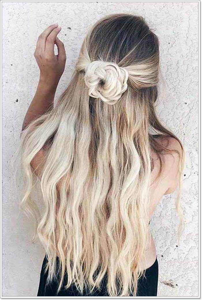 120 Marvellous Half Up -Half Down Hairstyles