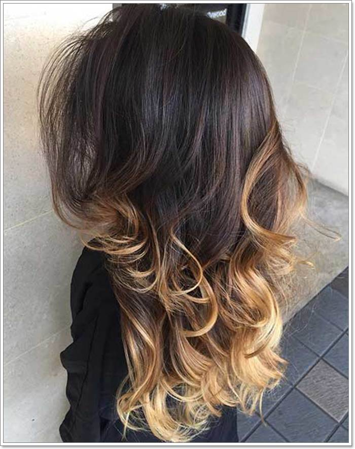110 Brown Hair With Blonde Highlights