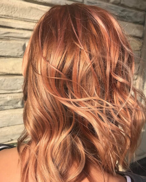 126 Strawberry Blonde Hair Which Hurls A Captivating Glimpse