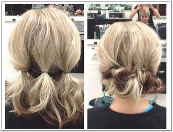 104 Outstanding Updos For Short Hair That Looks Totally Remarkable