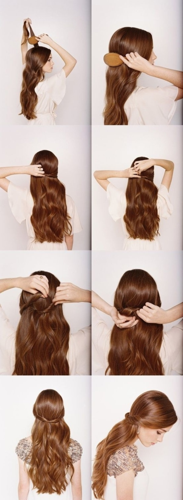 easy hair up styles for hair 101 easy diy hairstyles for medium and hair to snatch 6879