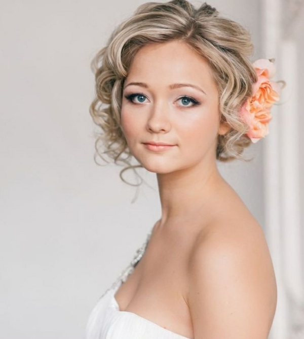 Long And Short Weddings Hairstyles67 Curly Wedding Hairstyles For Hair